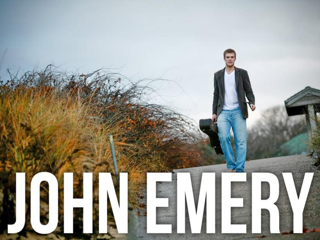 John Emery's EP's video poster