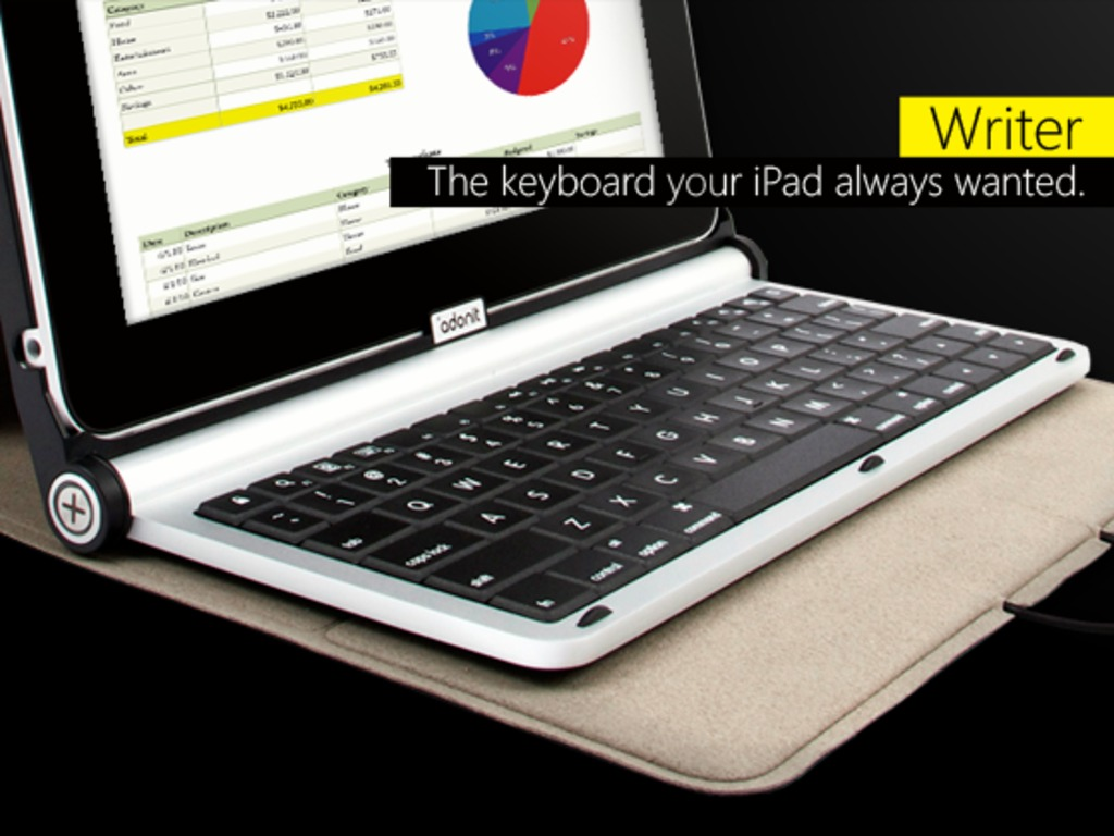 Adonit Writer: iPad Case + Keyboard's video poster