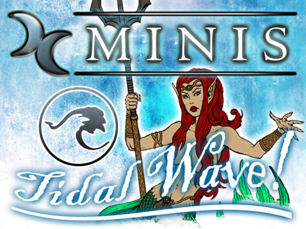 Dungeon Crawler Minis :: Tidal Wave (DCM) (Canceled)'s video poster