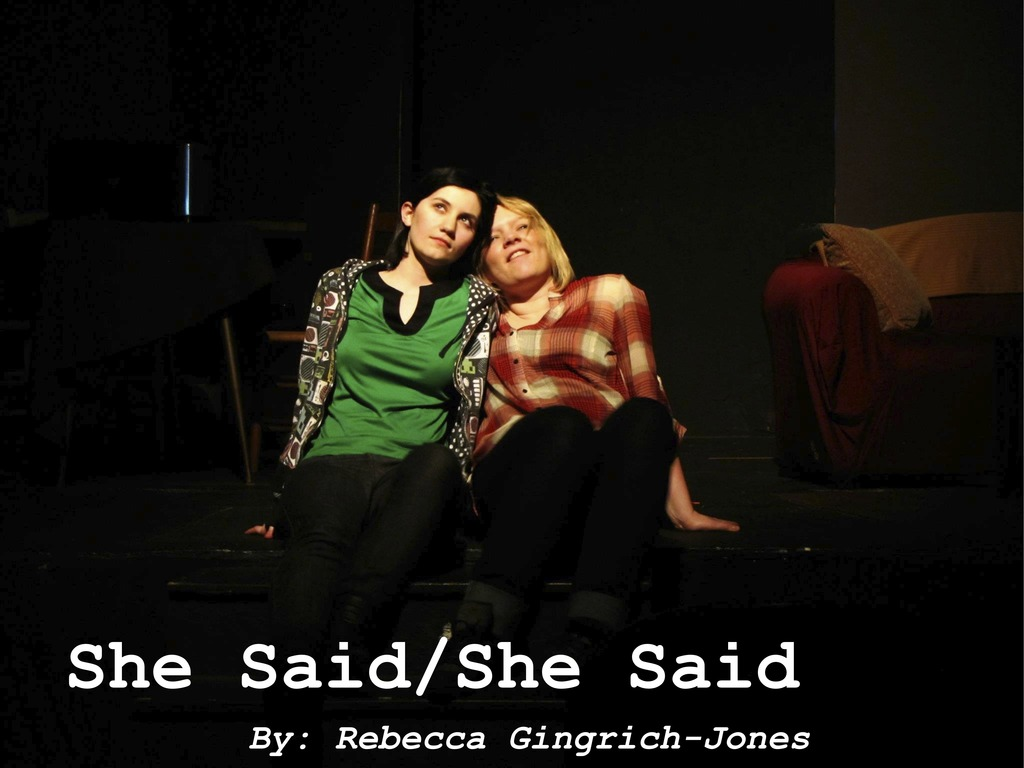 SHE SAID/SHE SAID goes to Manhattan Repertory Theatre!'s video poster