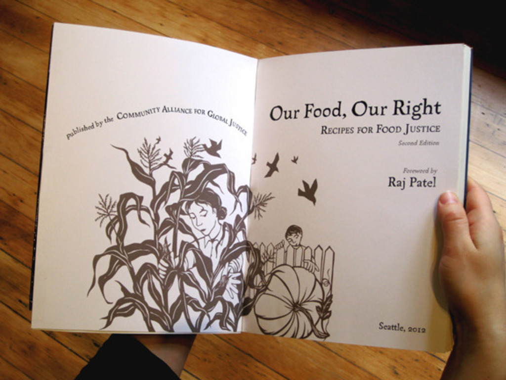 """""""Our Food, Our Right: Recipes for Food Justice""""!'s video poster"""