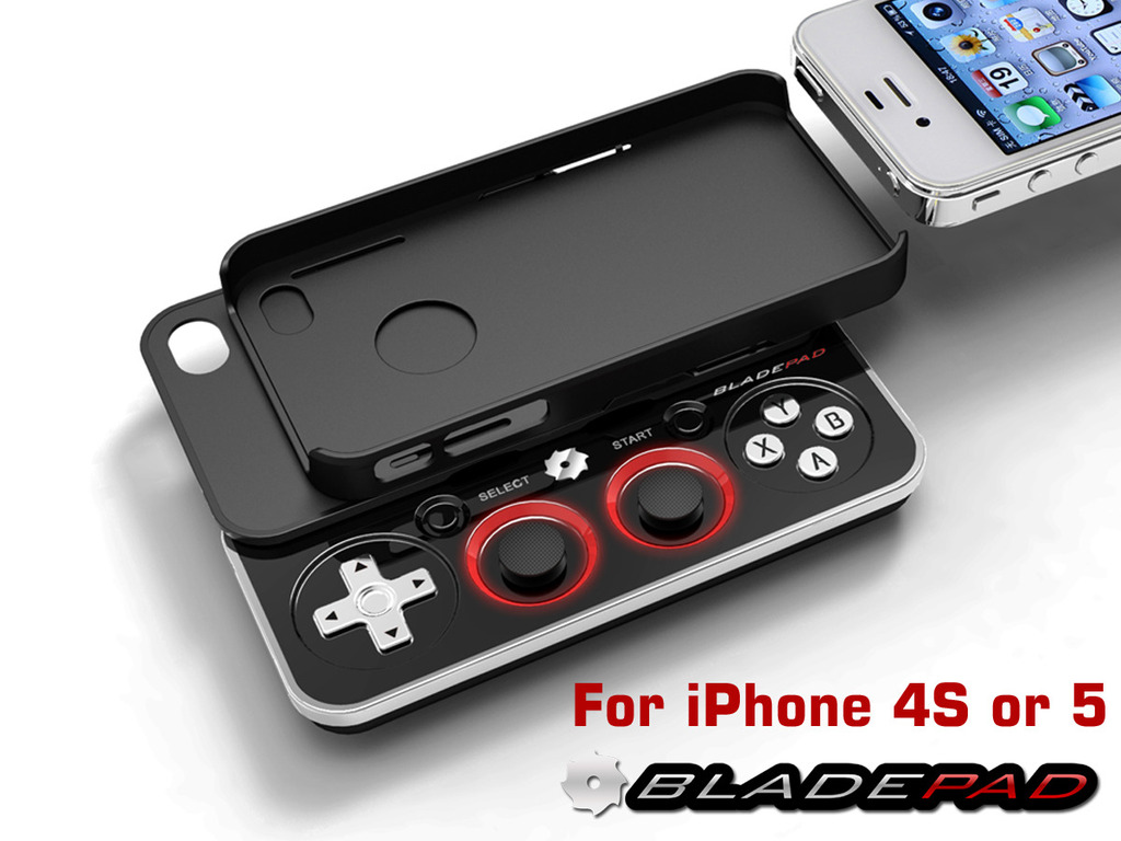 Bladepad—The Detachable iPhone Gamepad (Canceled)'s video poster
