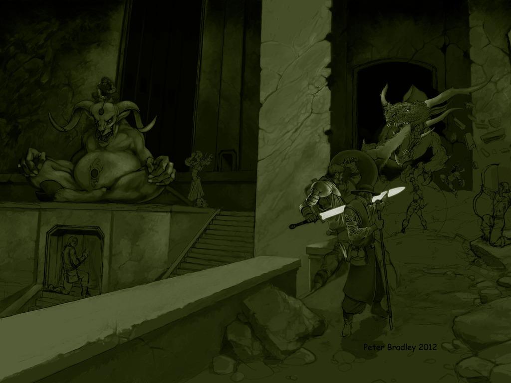 Castles & Crusades Players Handbook, 5th Printing's video poster