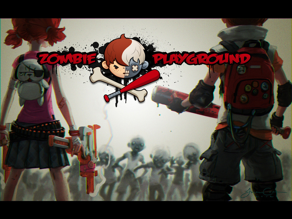 Zombie Playground (#zpg) - 3D Action, Online Battle RPG's video poster