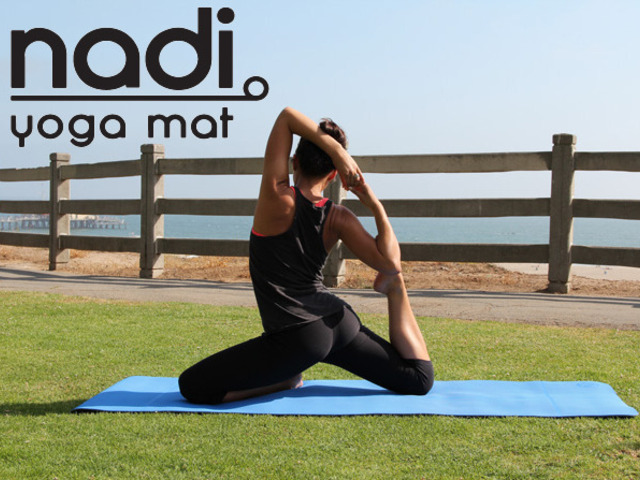 Nadi Yoga Mat An Eco Friendly Mat That Stays Rolled Up By Bryan Loesby Kickstarter