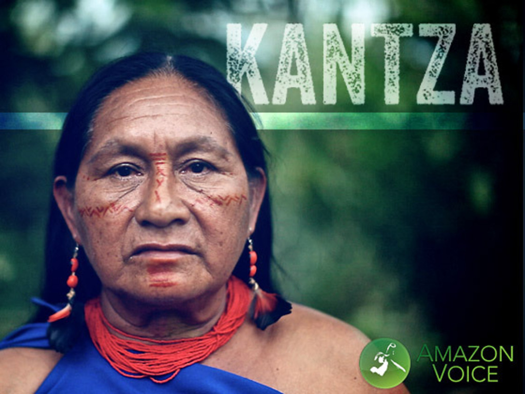 Kantza: Deep in the Amazon a Story is Waiting to be Told's video poster