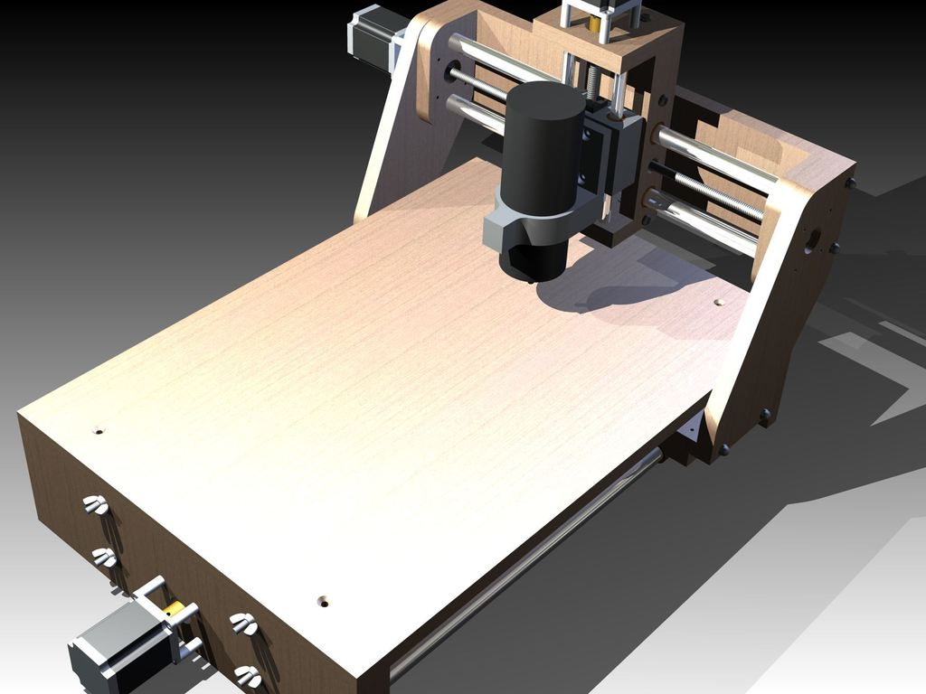 Modular Desktop CNC Machine's video poster