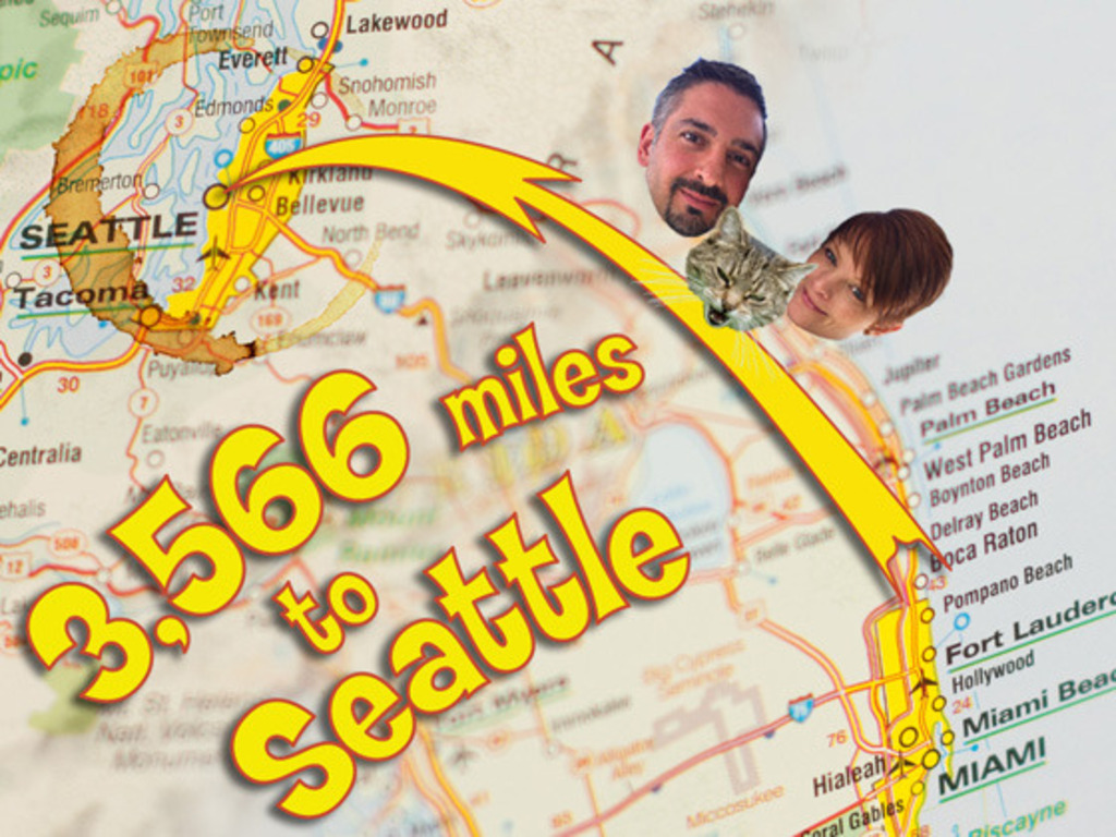 3,566 miles to Seattle - a pictorial journey across America's video poster