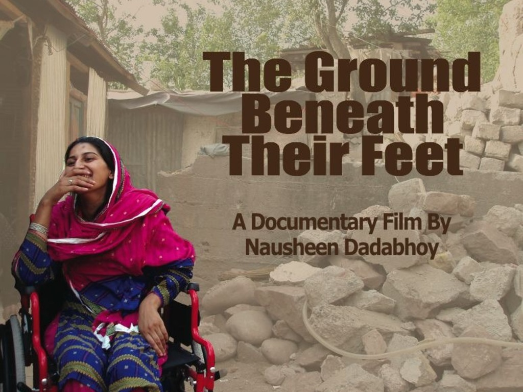 The Ground Beneath Their Feet: A Tale of Pakistani Women's video poster