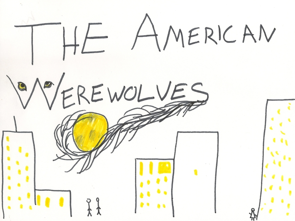 The American Werewolves's video poster