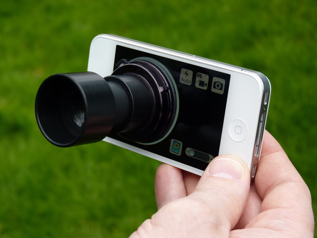 Daylight Viewfinder for iPhone's video poster