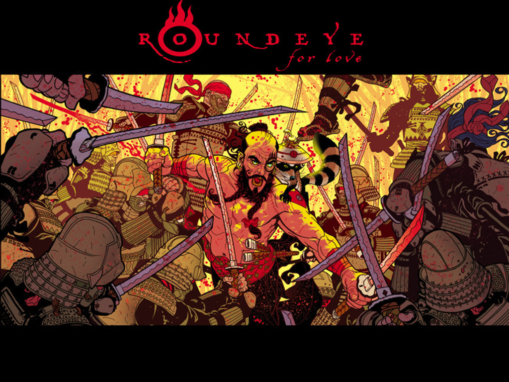 Tony Harris' ROUNDEYE: For Love's video poster