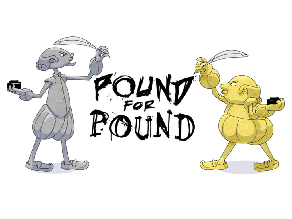 Pound for Pound - a Short Animated Film's video poster