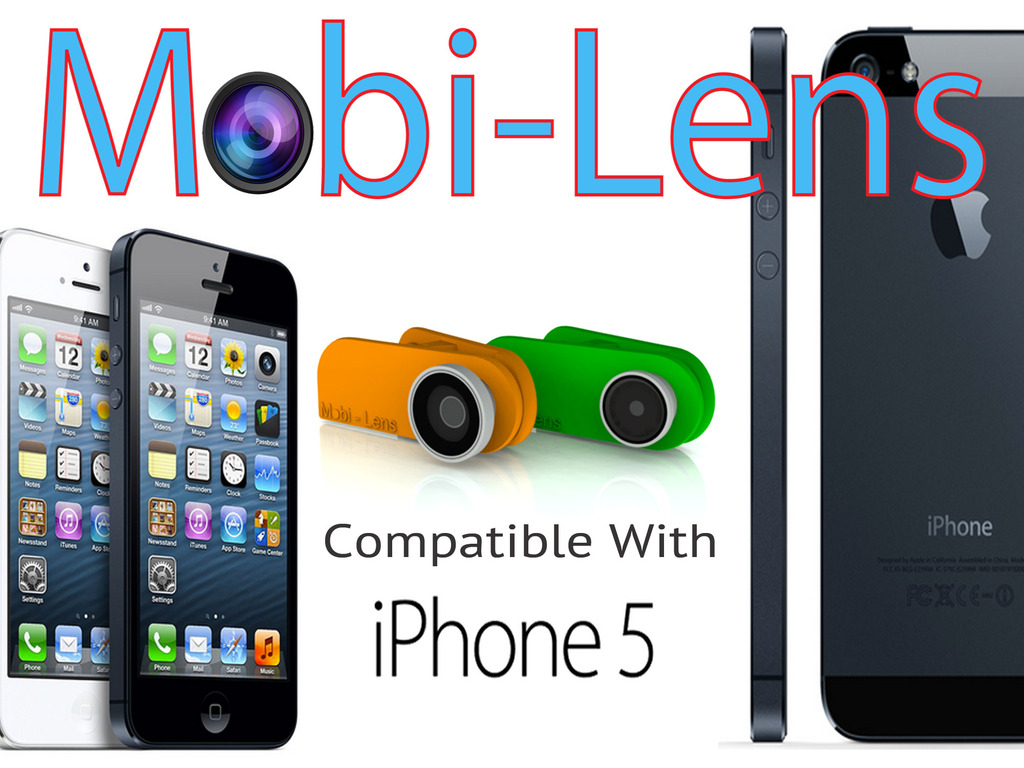 Mobi-Lens:Universal fit for iPhone, Androids, tablets & more's video poster