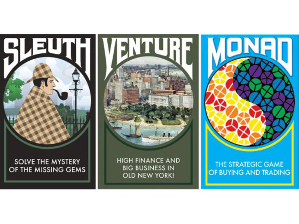 Sid Sackson Signature Series - Sleuth, Venture and Monad's video poster