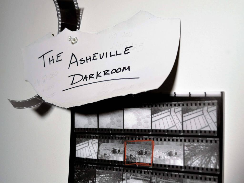 Create The Asheville Darkroom's video poster