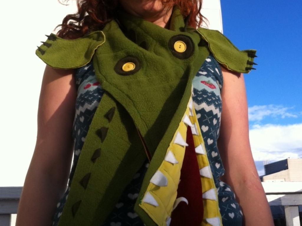 Scarf-a-Day: A scarf everyday in january's video poster