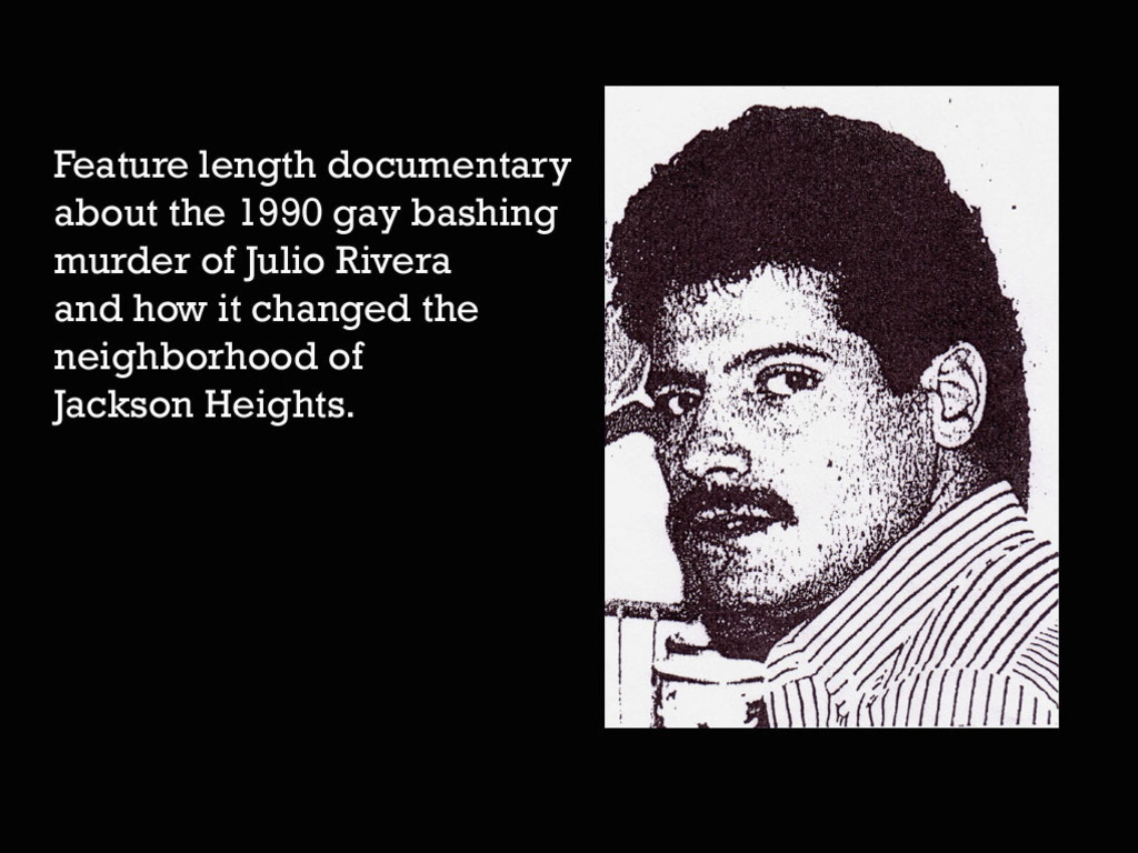 Julio of Jackson Heights (documentary film)'s video poster