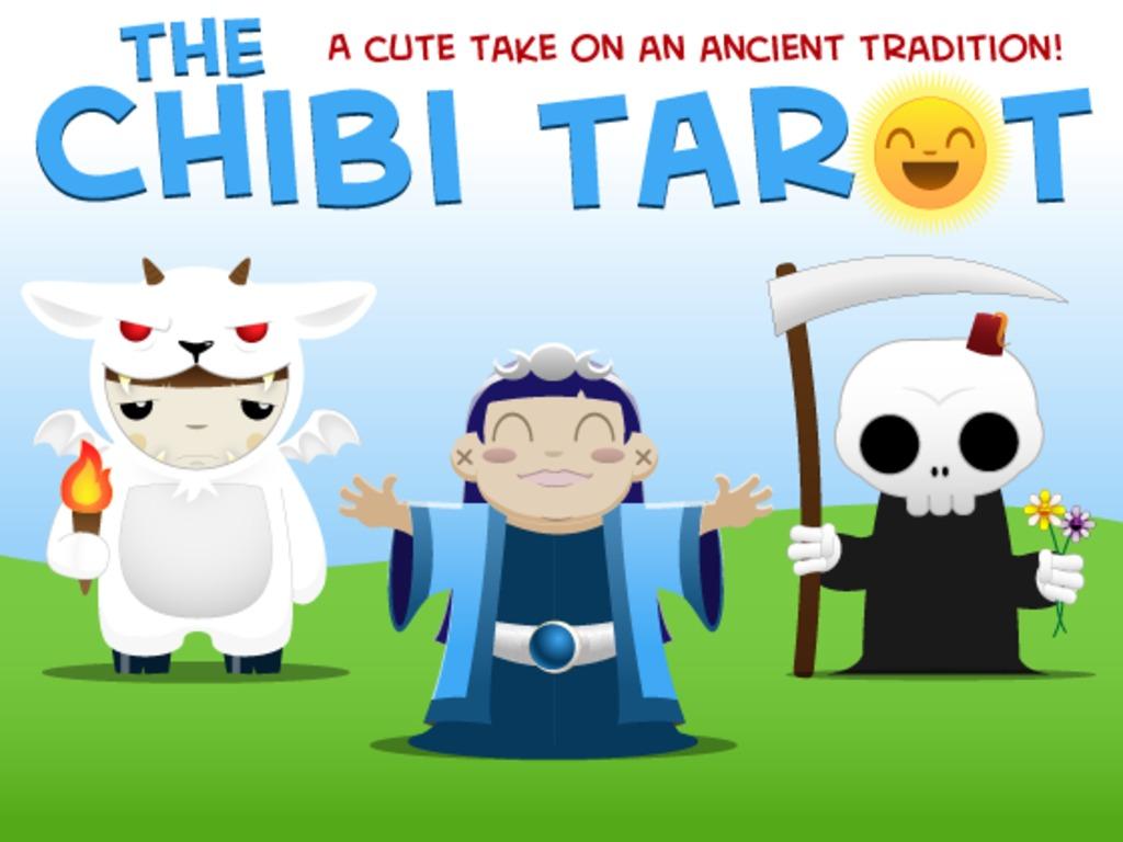 The Chibi Tarot's video poster