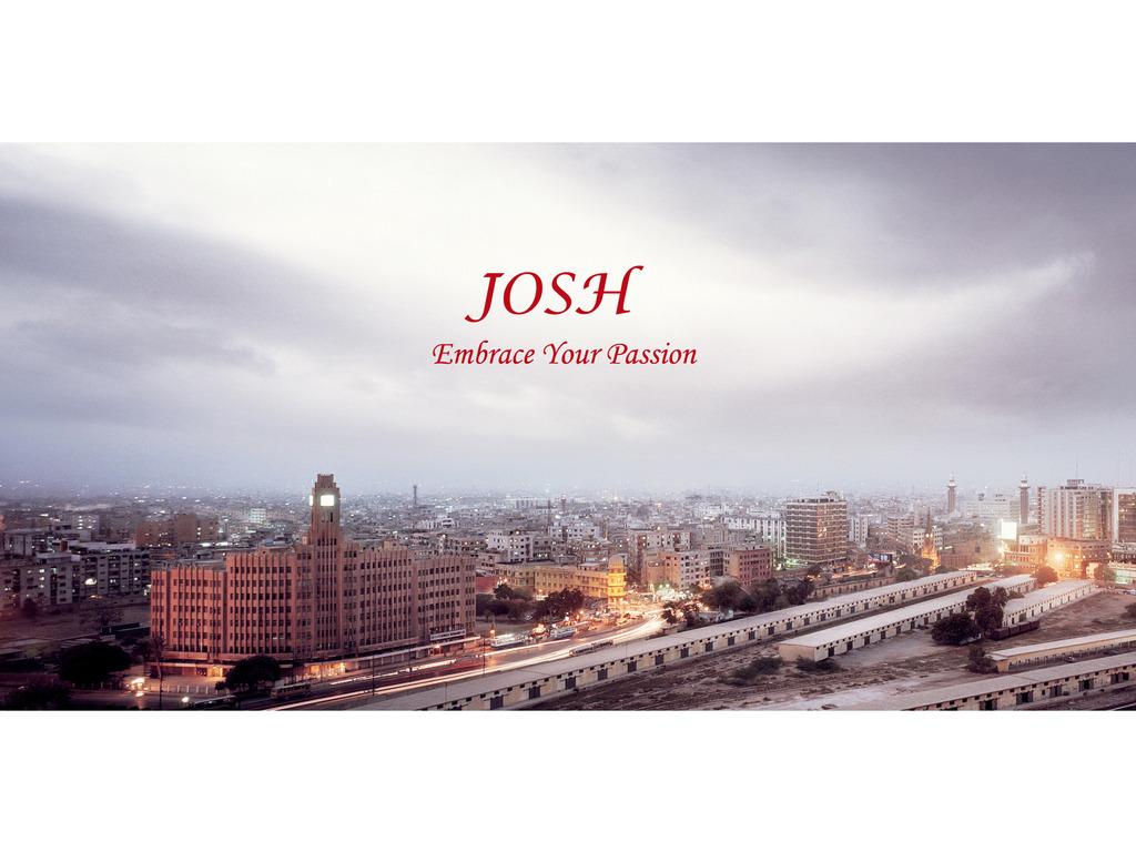 JOSH, a mystery-thriller film set in Pakistan.'s video poster