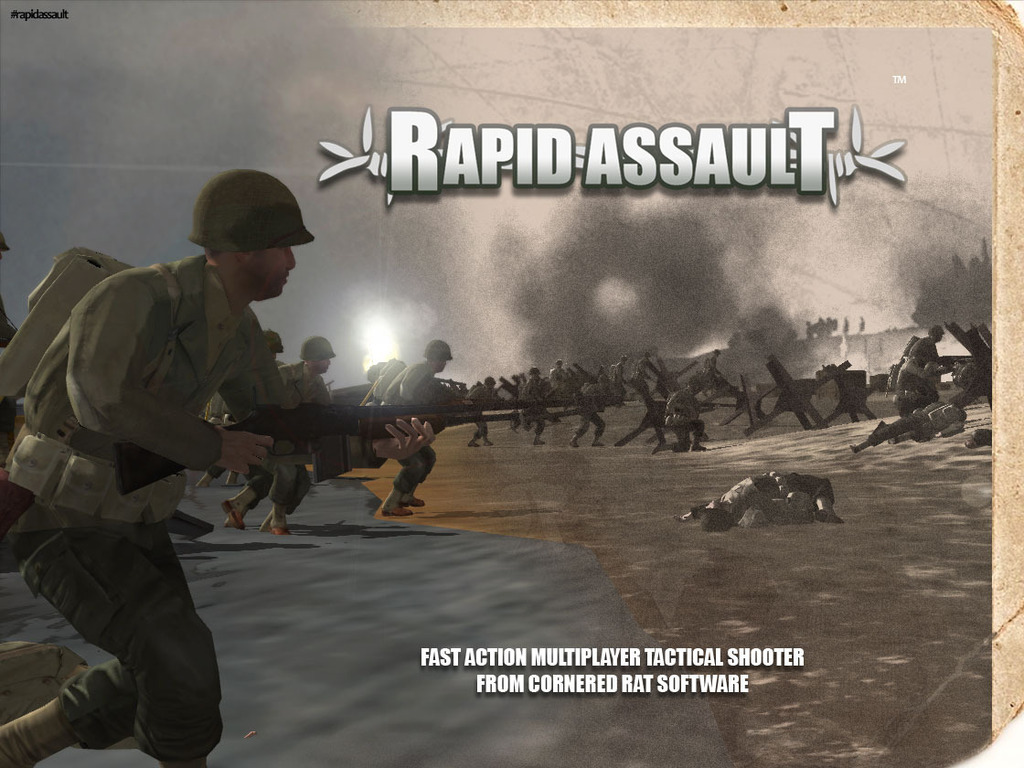 Small studio wants to finish tactical shooter- Rapid Assault's video poster