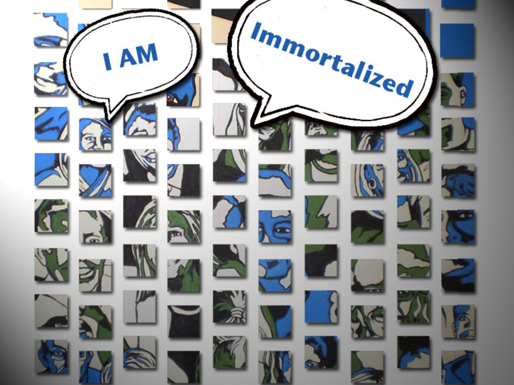 I Am Immortalized - Portrait Installation Project's video poster