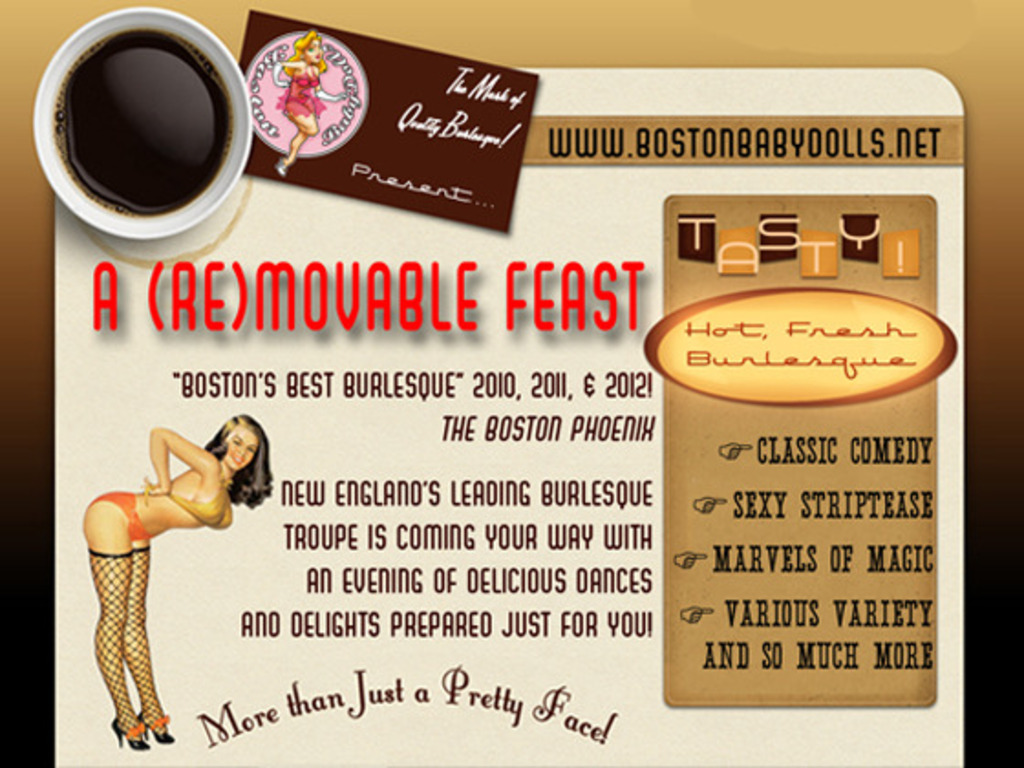 Get The Boston Babydolls Burlesque Troupe on the Road!'s video poster