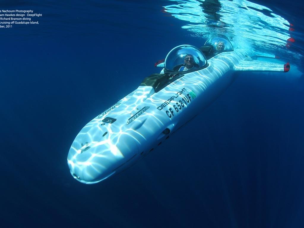 DeepFlight Hydrobatics Expedition's video poster