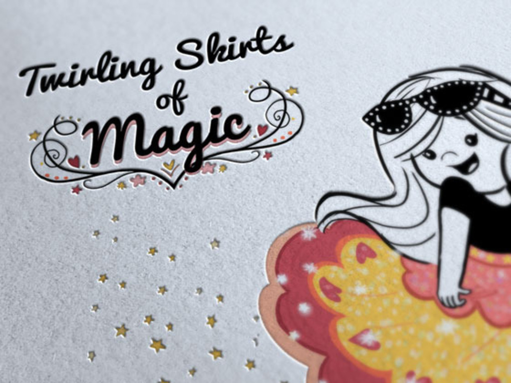 Twirling Skirts of Magic Children's Book's video poster