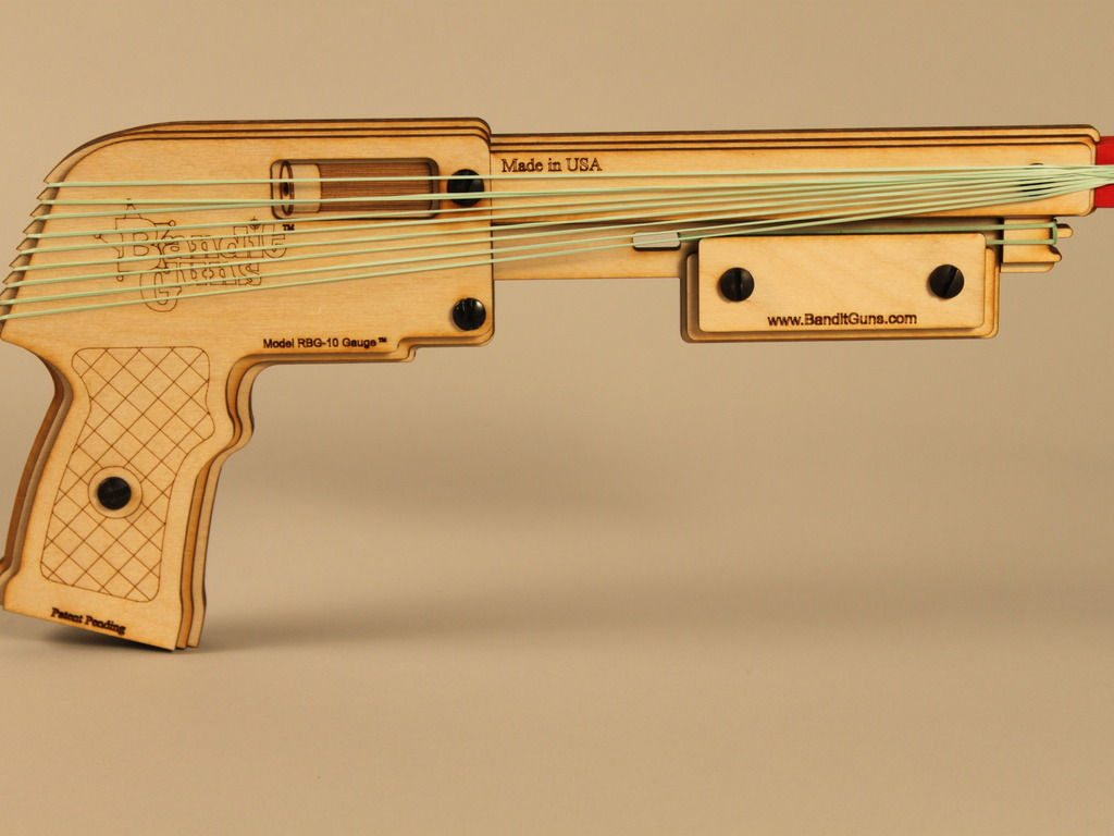 Bandit Guns Rubber Band Shotgun By Bob Coulston Kickstarter