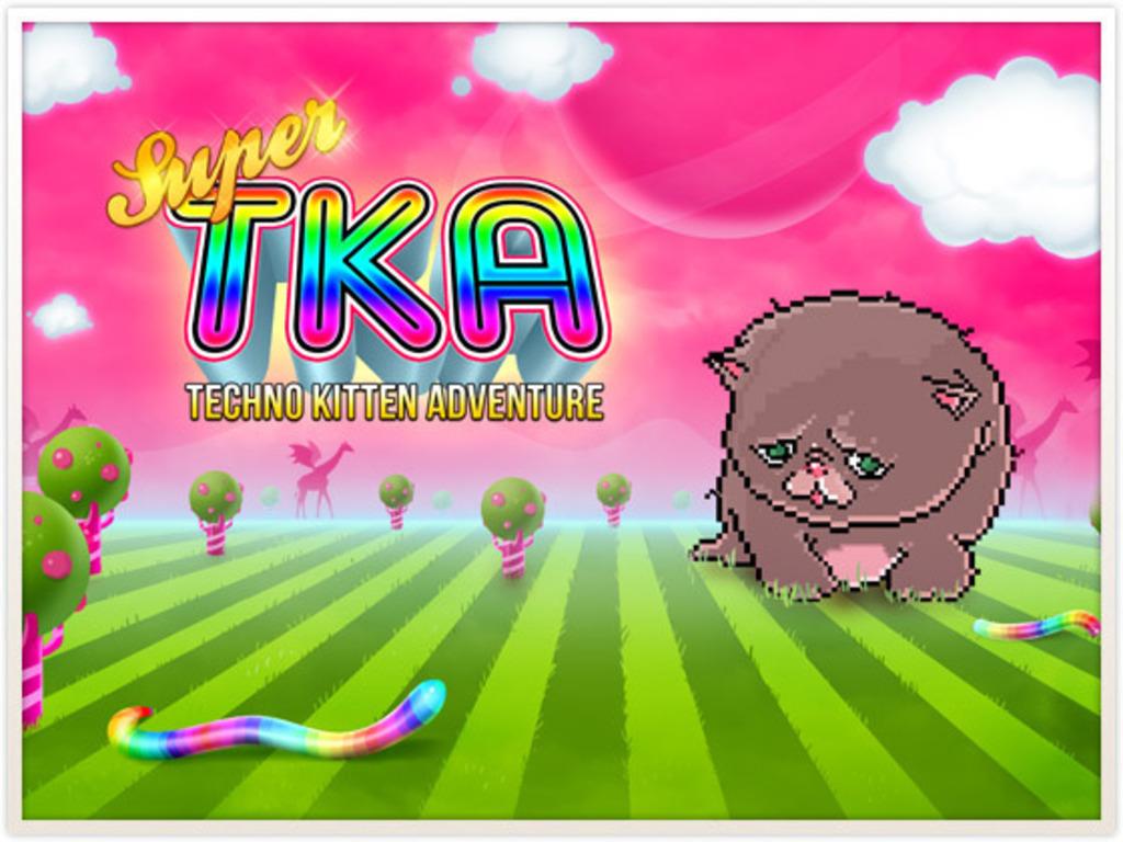 Super Techno Kitten Adventure's video poster