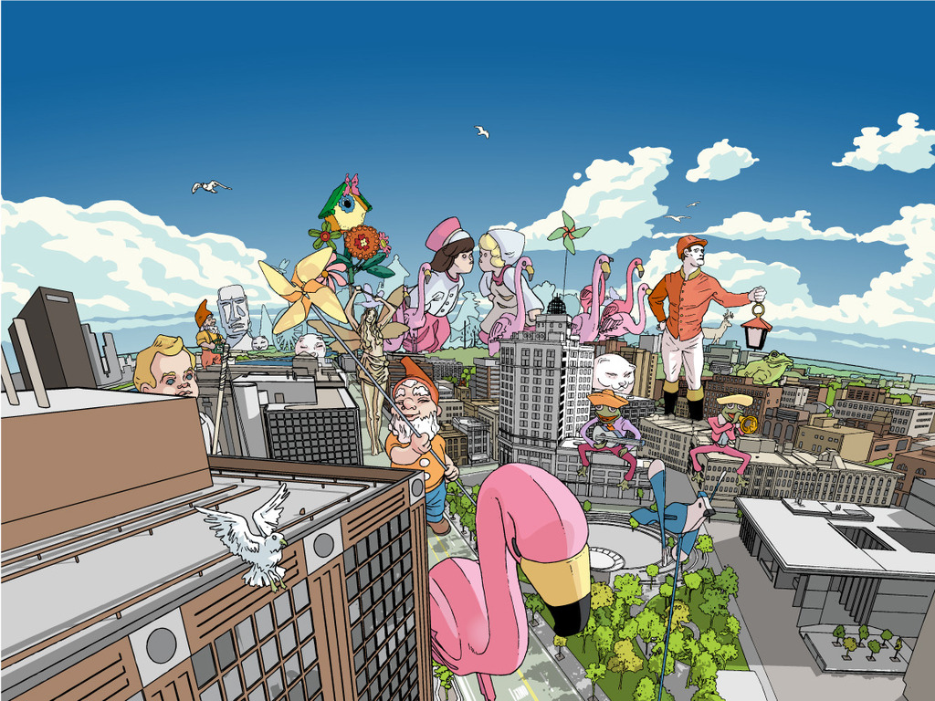 'De Grand Parade,' 2012 Artprize Entry's video poster