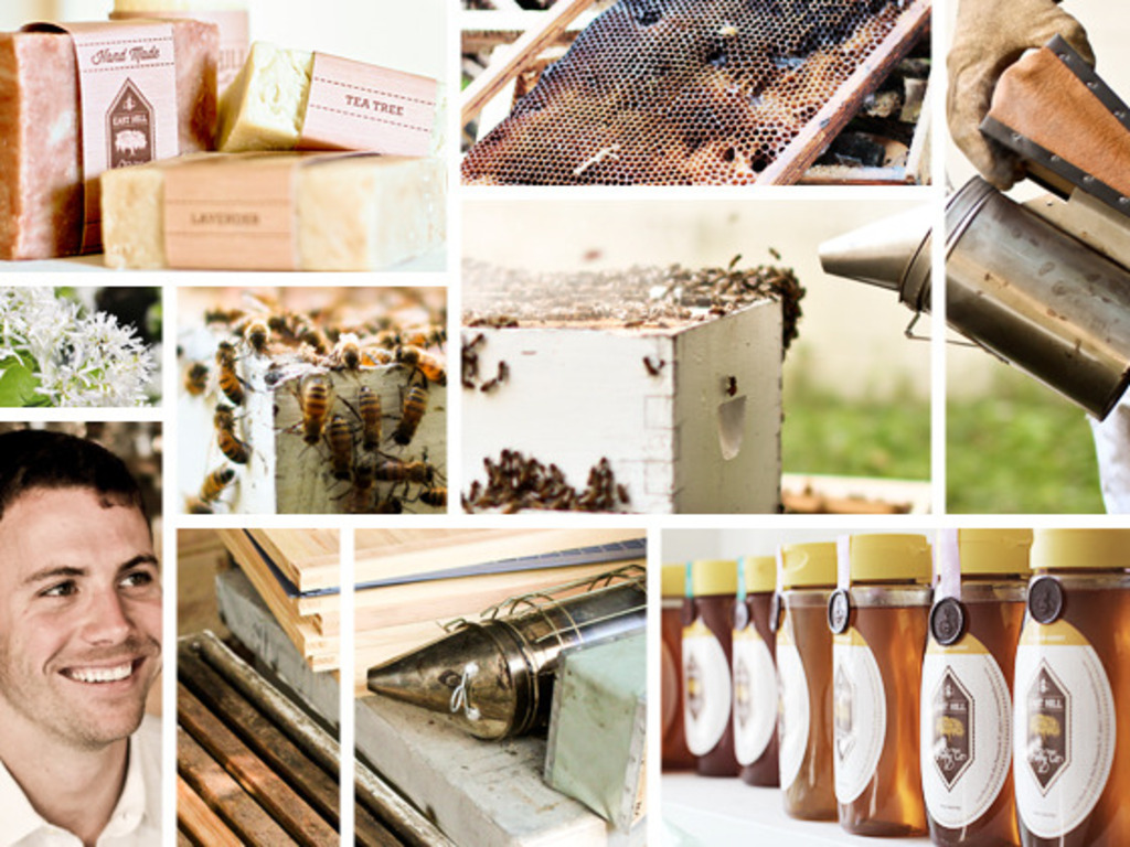 The East Hill Honey Project's video poster