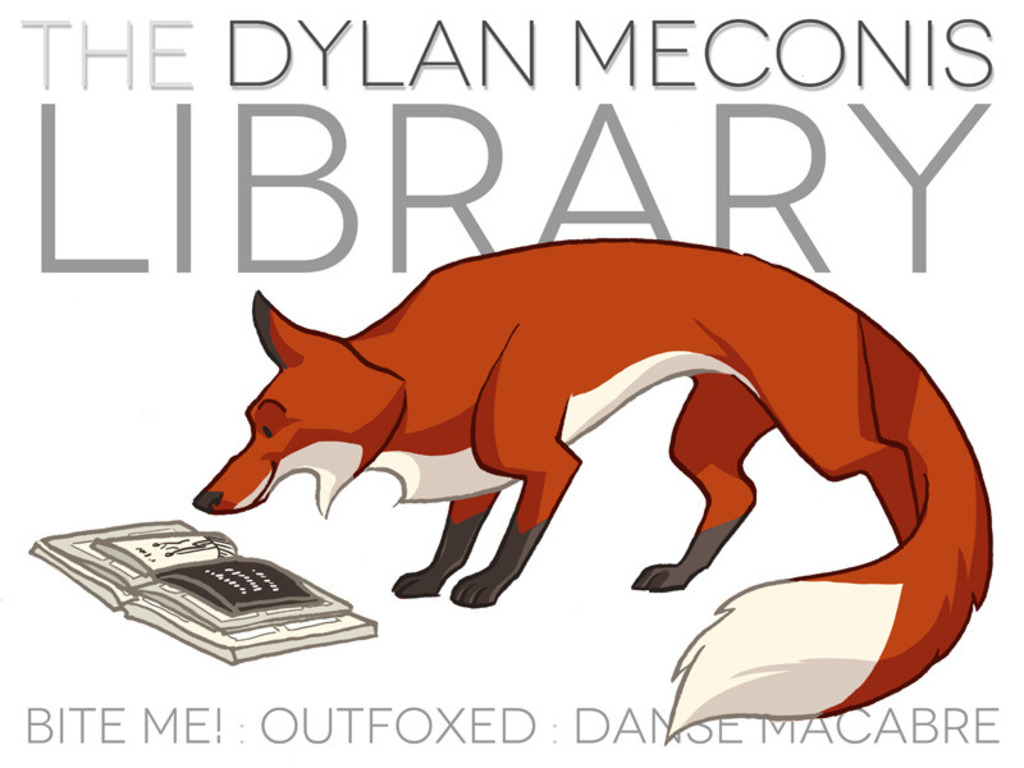 The Dylan Meconis Library 2012's video poster