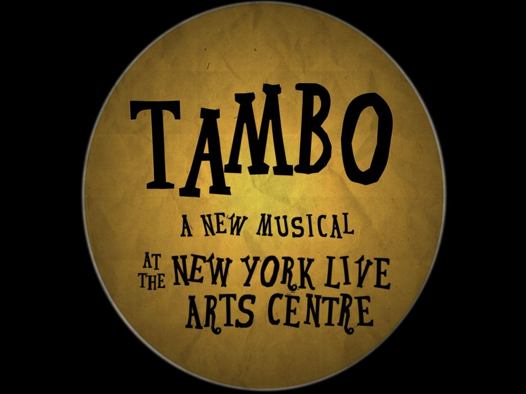 """""""Tambo"""" a new """"Off Broadway"""" musical's video poster"""