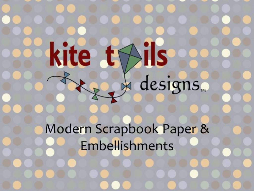 Kite Tails Designs: Modern Scrapbook Paper & Embellishments's video poster