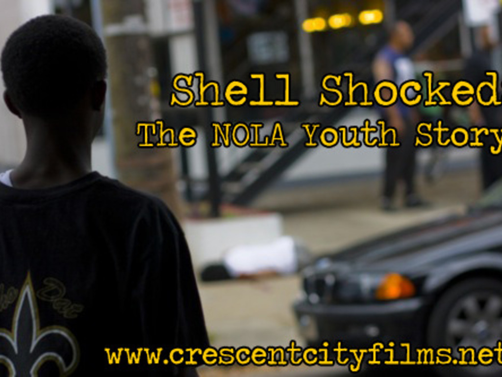 Shell Shocked: The New Orleans Youth Story (documentary)'s video poster