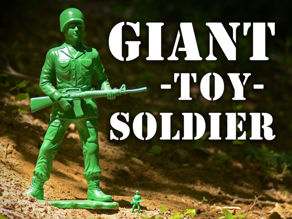 Giant Toy Soldier's video poster