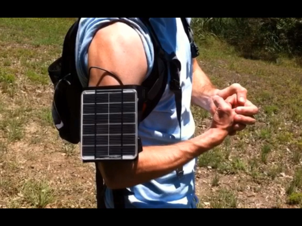 Apollo Armband Solar Generator's video poster