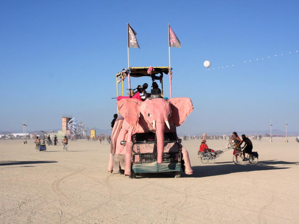 Beau Le'Phant - 2012 Burning Man Mutant Vehicle's video poster