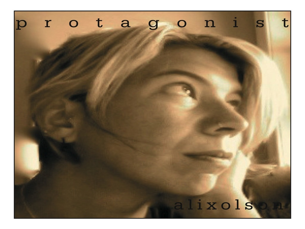 "Alix Olson. The ""Protagonist"" Project's video poster"