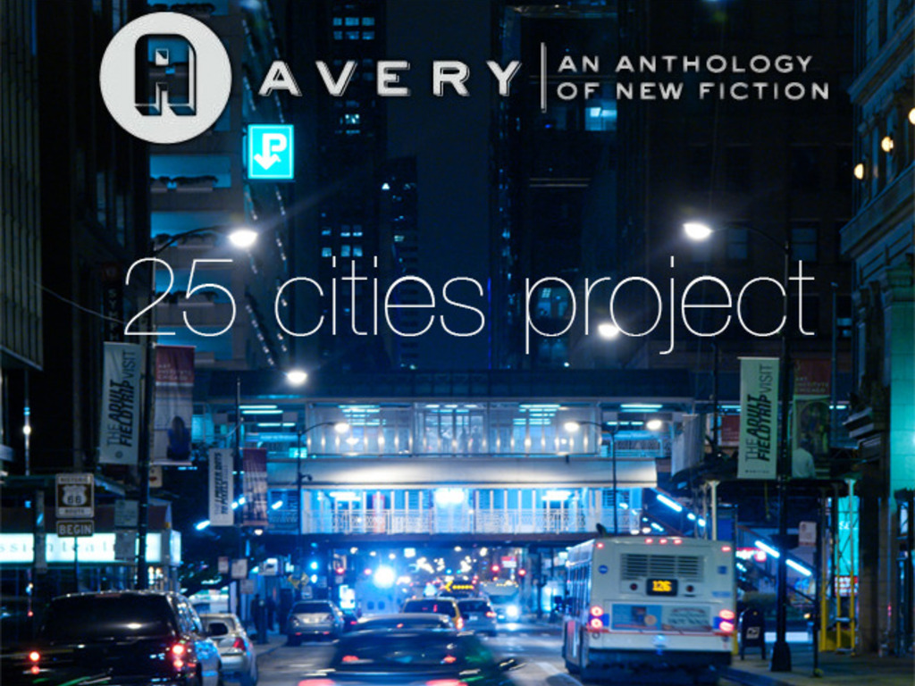 Avery Anthology's 25 Cities Project's video poster