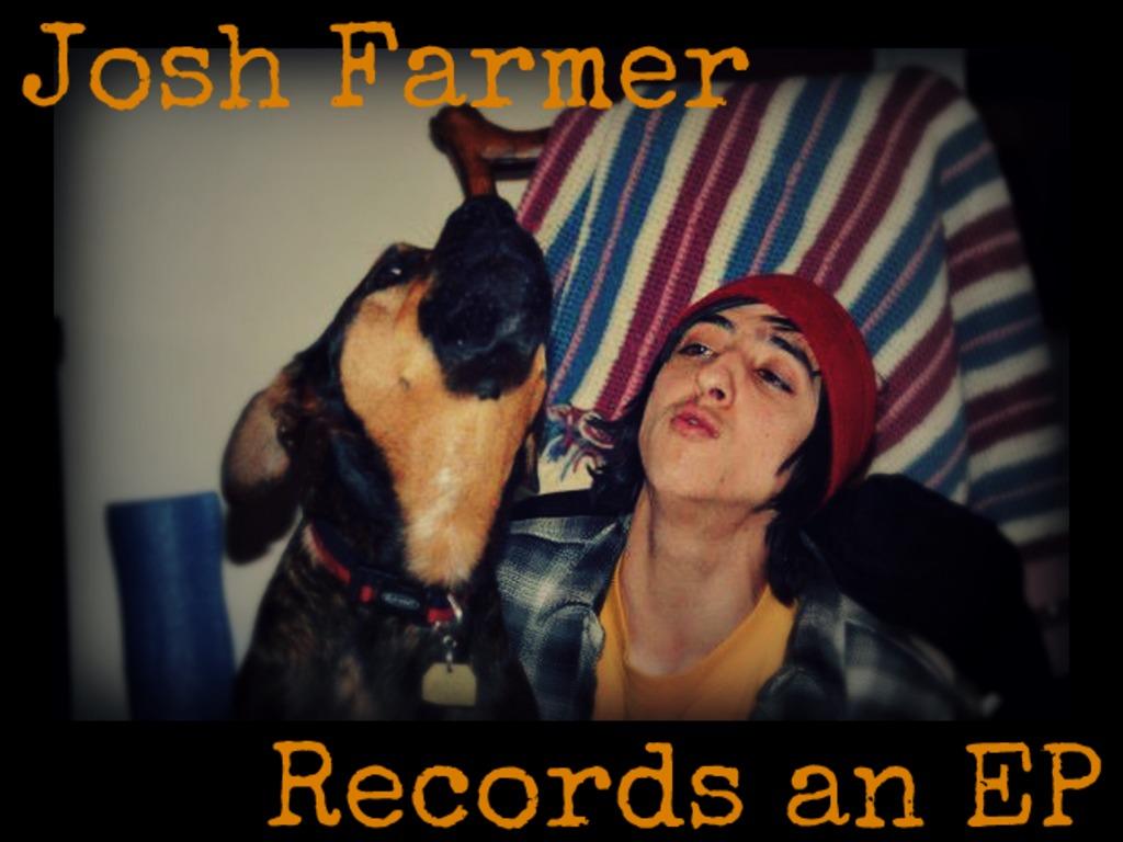 Josh Farmer Records an EP's video poster