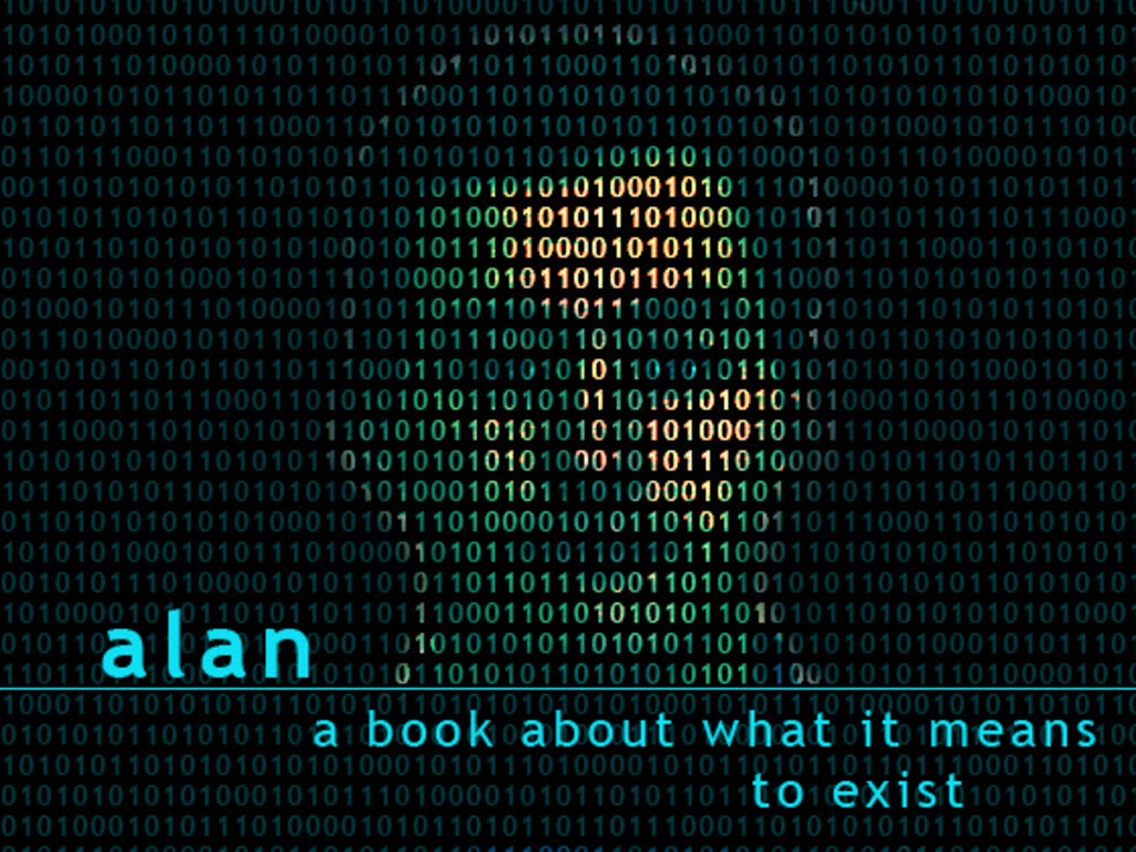 Alan: A Book About What it Means to Exist's video poster