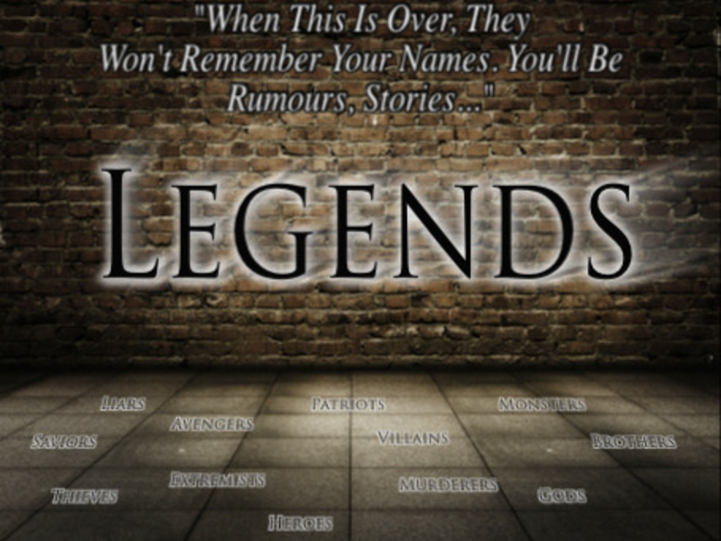 Legends: The eBook Series's video poster
