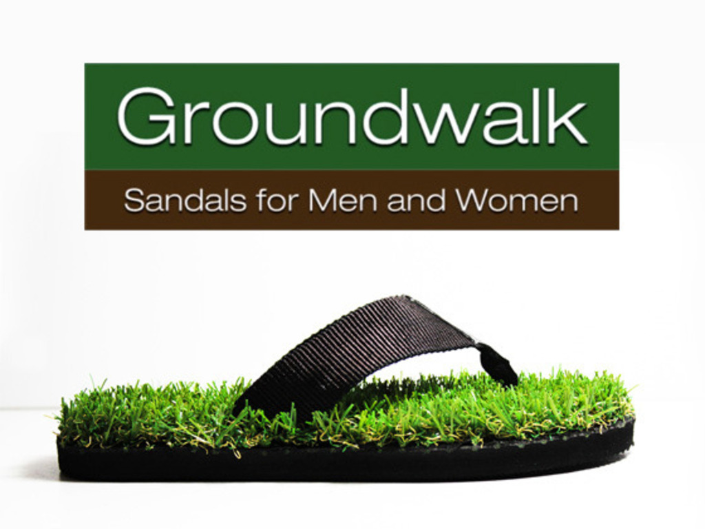 Groundwalk - Sandals for Men and Women's video poster