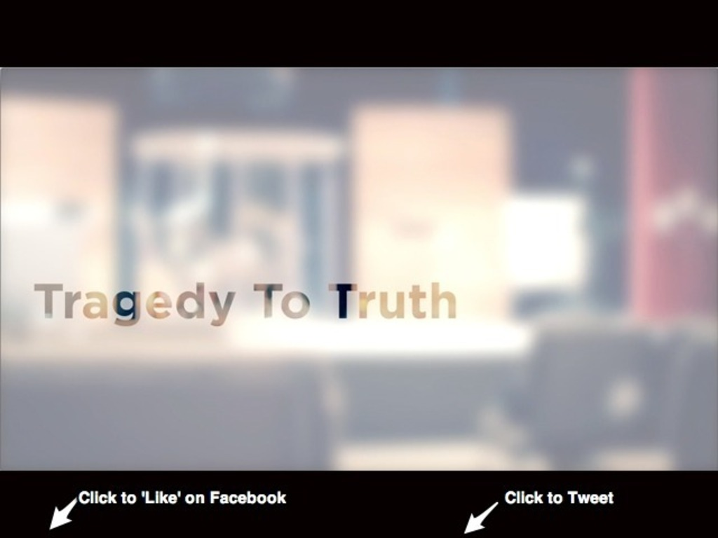 Tragedy to Truth by Casey Cease's video poster