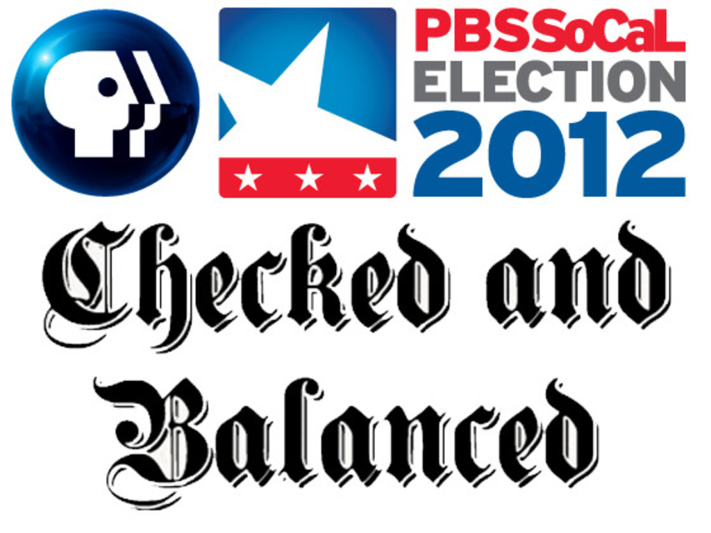 Checked and Balanced - Covering Election 2012 in LA's video poster