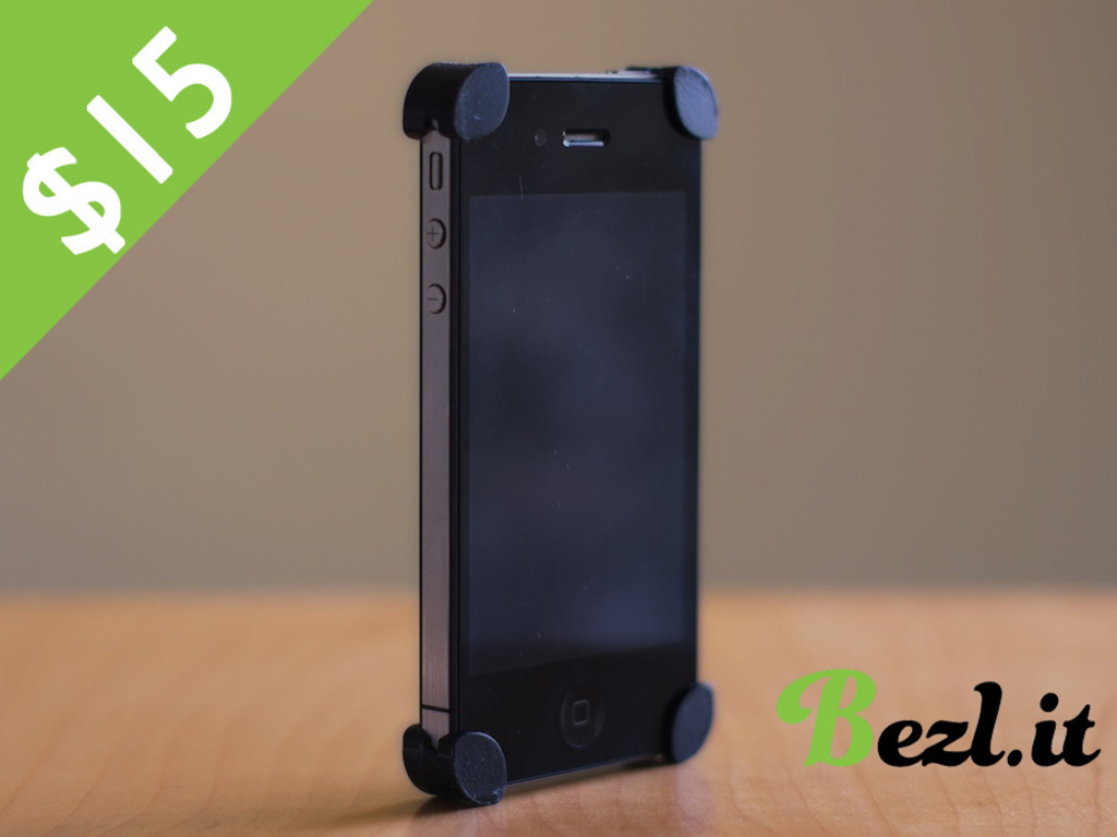 BEZL: the iPhone anti-case's video poster