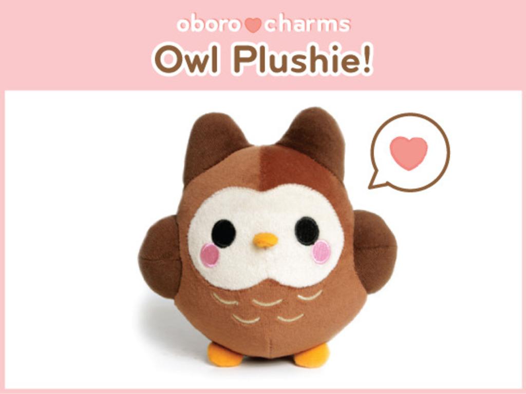 Oborocharms™ Kawaii Owl Plushie's video poster